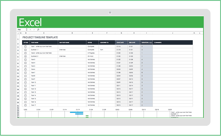 Full Size of Ic Top Project Mgmt Timeline Excel Template Templates Download