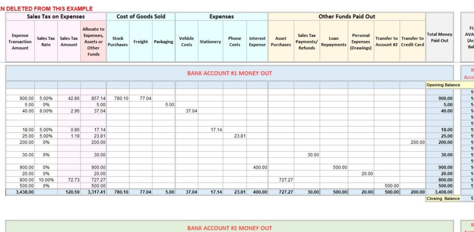 Large Size of Accounting Excel Template Income Expense Tracker With Tax Chart Of Accounts Example Spreadsheet Uk