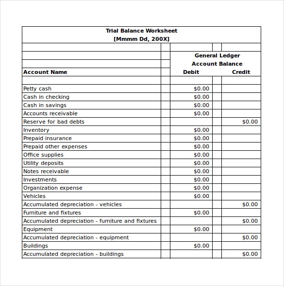 Full Size of Accounting Templates For Small Business Dairy Plan Template Trial Balance Excel