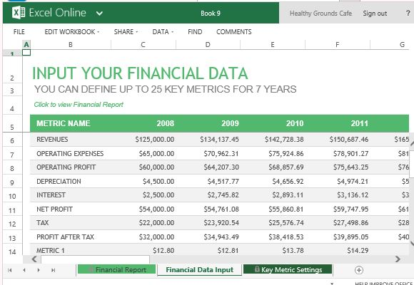 Full Size of Annual Financial Report Template For Excel Templates Record Metrics Up To Seven Years Spreadsheet
