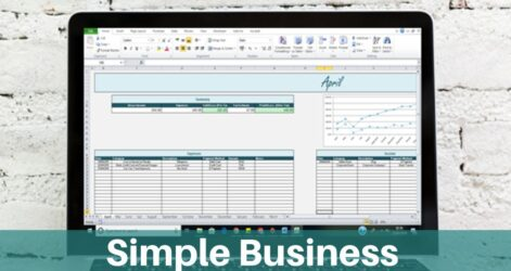 Basic Income Expenses Spreadsheet For Small Business Etsy Il Fullxfull 7esv To Pay Off Uk