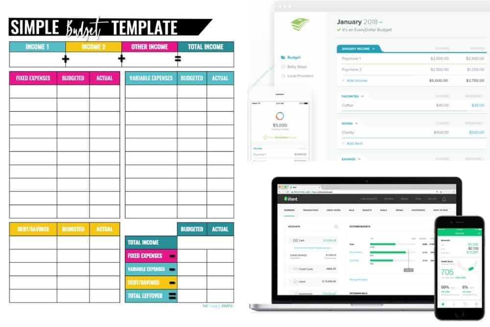 Full Size of Best Budget Templates That Help Control Your Money Spreadsheet Template Business App