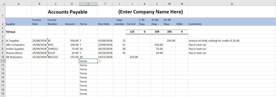 Large Size of Bookkeeping Templates For Self Employed Excel Template Business Golf League Spreadsheet