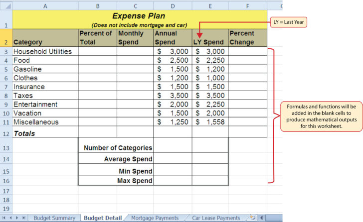 Medium Size of Budget Spreadsheet Financial For Small Business How To Setup A Household Excel Sheet Practice