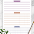 Business Card Template Yarn Shop Plan 10 Page Goal Tracker