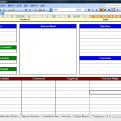 Business Cards Templates Modern Free Download Template Project Management Spreadsheet