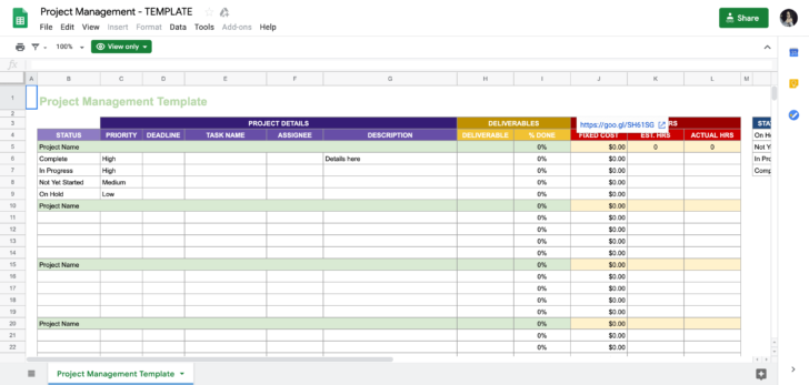 Medium Size of Business Case For Equipment Purchase Template Nz Google Sheets Project Management