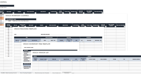 Business Check Template Contract Free Envelope Excel Inventory And Sales For Retailers