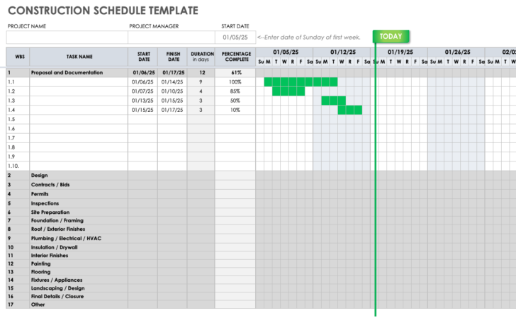 Business Cost Proposal Template Cover Sheet Credit Google Sheets Schedule