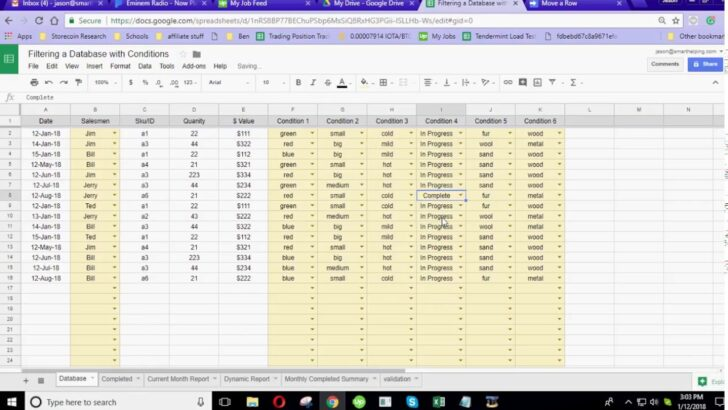 Cool Google Sheets Functionality With Database Create In Business Spreadsheet Templates A