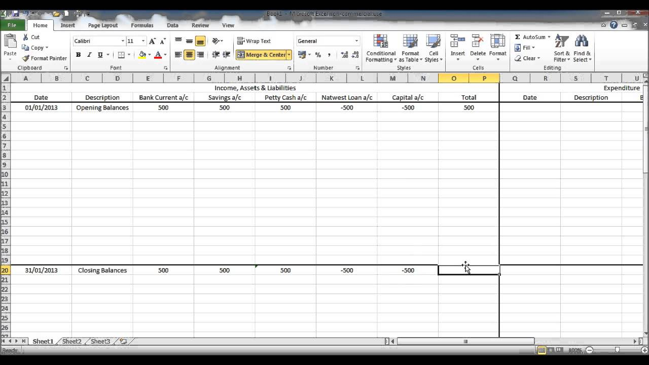 Full Size of Create Bookkeeping Spreadsheet Using Microsoft Excel Part Prospect Tracking Outline And