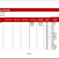 Detailed And Quarterly Leads Tracker Templates Excel Lead Weekly Schedule Template Google Spreadsheet