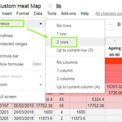 Estimating Spreadsheet Construction Excel Residential Google Sheets Freeze Row