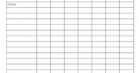 Excel 2013 Google Spreadsheet Household Inventory Create A Weekly Budget Template