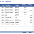 Thumbnail Size of Expenses Template Small Business P&l Spreadsheet