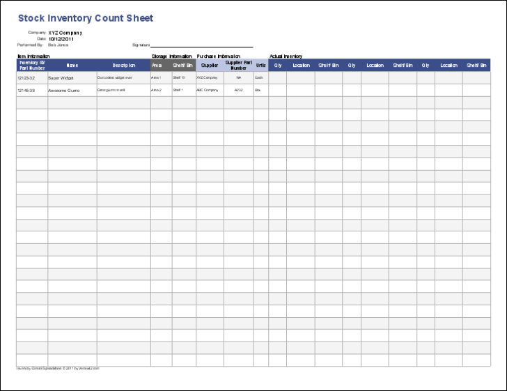 For Business Notary Public Cards Templates Small Plan Template Inventory Control With Count Sheet Excel