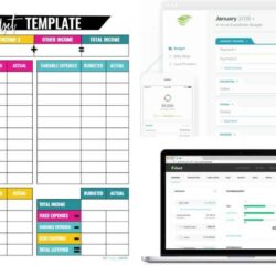 Free Business Plan Template Pages Proforma Proposal Financial Budget