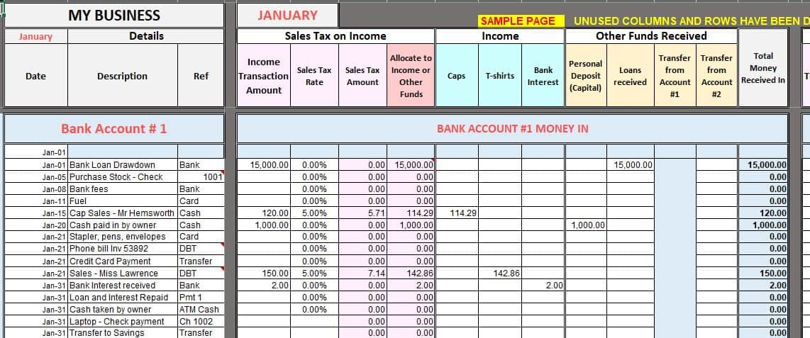 Full Size of Free Excel Bookkeeping Templates Accounting Template Expense Sheet Format Persuasive Spreadsheet