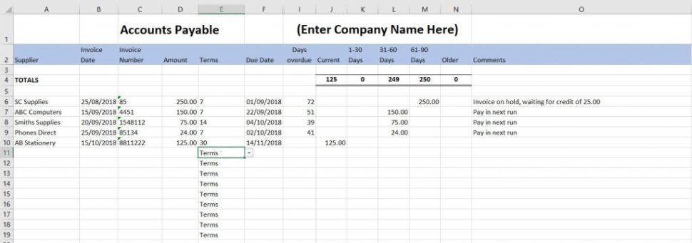 Large Size of Free Excel Bookkeeping Templates Accounts Spreadsheets Small Business Spreadsheet Payable Uk