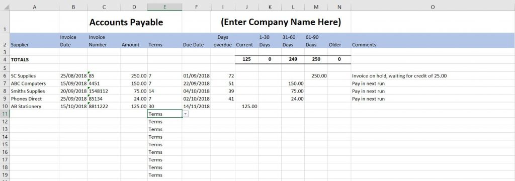 Full Size of Free Excel Bookkeeping Templates Accounts Spreadsheets Small Business Spreadsheet Payable Uk