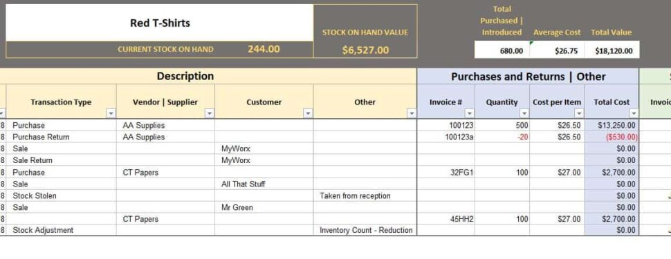 Large Size of Free Excel Bookkeeping Templates Inventory Template Fillable Blank Business Check Spreadsheet