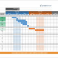 Free Gantt Chart And Project Timeline Templates In Powerpoints Excel Sheets Time Frame Spreadsheet Template