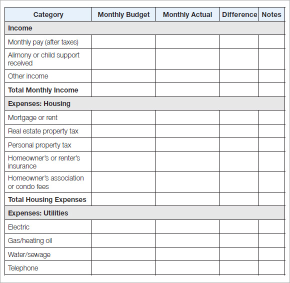 Full Size of Free Household Budget Samples In Google Docs Sheets Excel Ms Word Numbers Pdf Monthly Spreadsheet Expenses Template