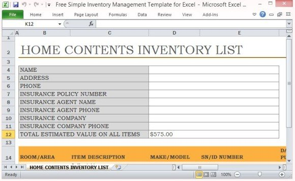 Full Size of Free Simple Inventory Management Template For Excel Create An And Standard 580x356 Essay Spreadsheet List