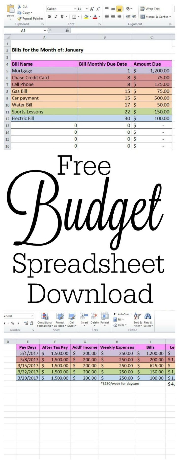 Medium Size of Free Spreadsheet For Windows Cleaning Business Templates Budget Planner Worksheet Bill Download 8