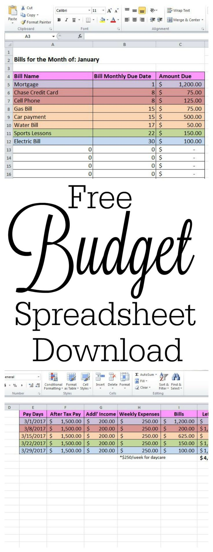 Full Size of Free Spreadsheet For Windows Cleaning Business Templates Budget Planner Worksheet Bill Download 8