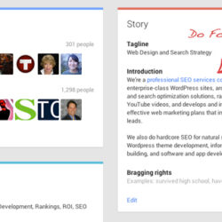 Google Plus Seo Insider Tips For Ranking Benefits Complete Edit Optimize Profile Free Spreadsheet Page