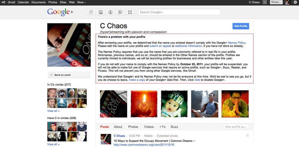 Full Size of Google Plus Warning Huh Whatever Happened To Supp Flickr Edit Responsive Business Website Spreadsheet Page