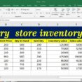 Grocery Store Inventory Excel Template Synthesis Essay Outline Business Operating Spreadsheet