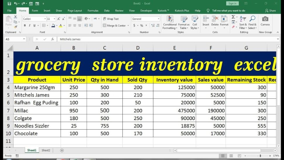 Large Size of Grocery Store Inventory Excel Template Synthesis Essay Outline Business Operating Spreadsheet