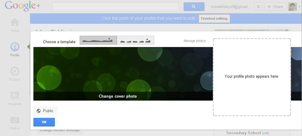 Full Size of Introducing Google Plus Profiles Cover Photos Realtimetricks Edit Photos1 Excel Spreadsheet Page