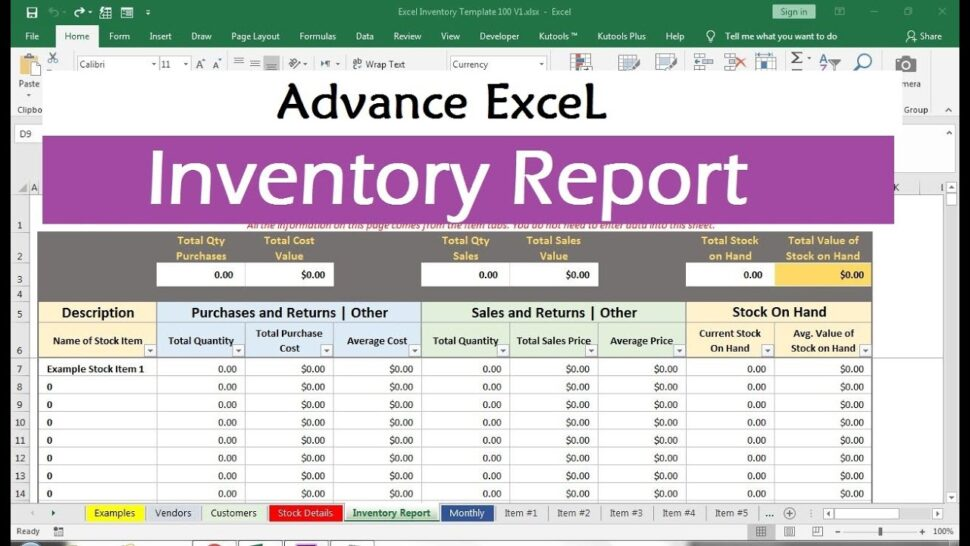 Large Size of Basic Inventory Control Spreadsheet Template Free Stock Excel 1024x690 Direct Mail