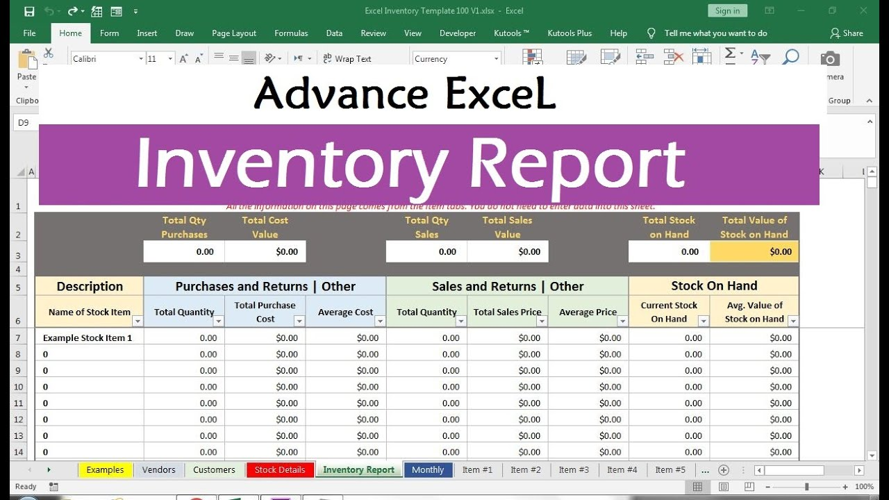 Full Size of Basic Inventory Control Spreadsheet Template Free Stock Excel 1024x690 Direct Mail