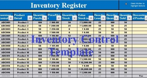 Inventory Management Excel Template Exceldatapro Stock Control Business Agenda Balance Spreadsheet
