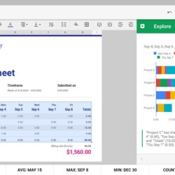 Inventory Spreadsheet Simple Projected Income Statement Template Free 3 Year Google Sheets App