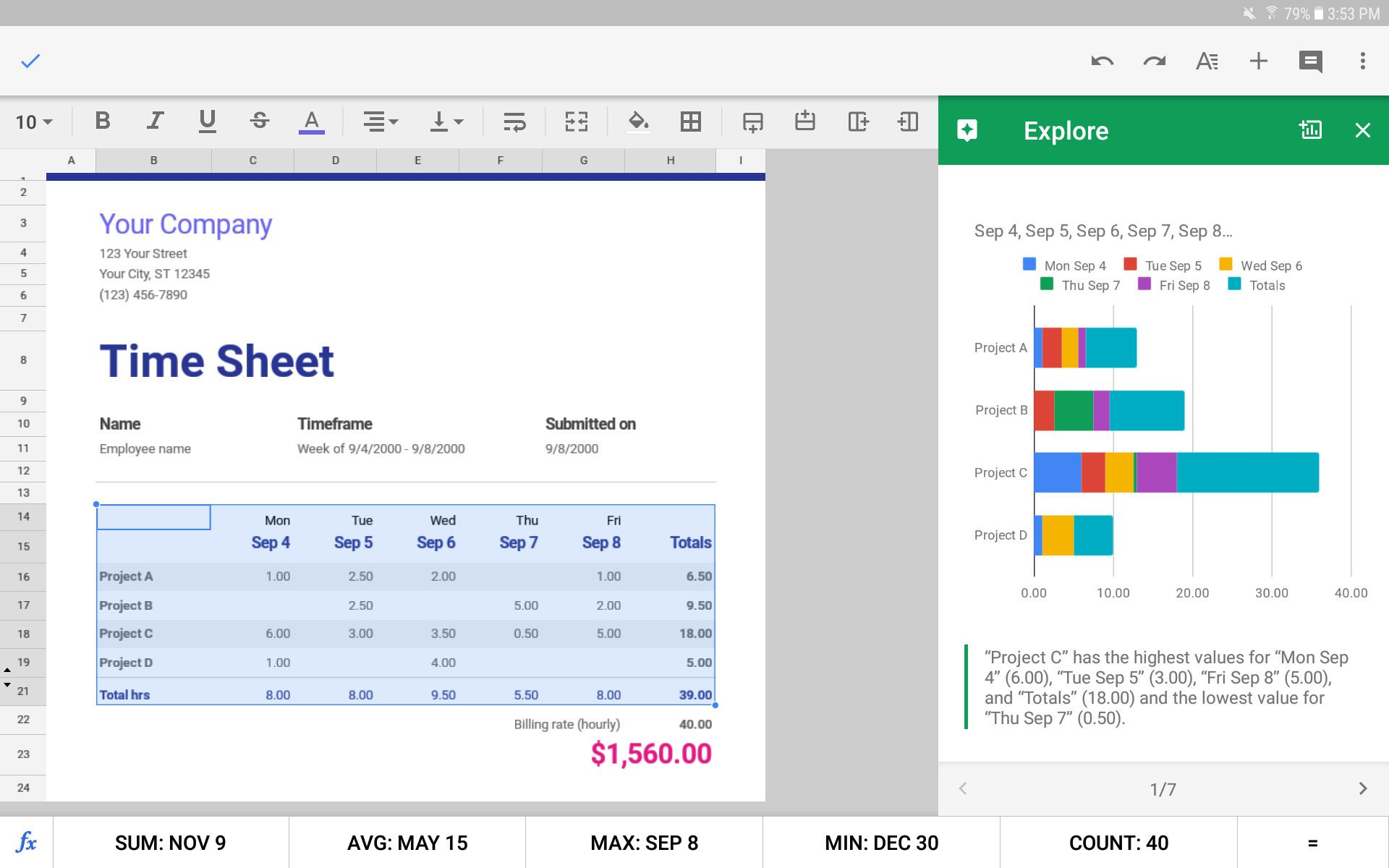 Full Size of Inventory Spreadsheet Simple Projected Income Statement Template Free 3 Year Google Sheets App