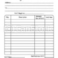 Invoice Book Template Vector Illustration Of Bill Pad Canstock Stock Csp2561822 Free Spreadsheet