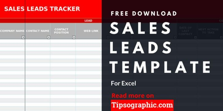 Medium Size of Lead Template For Excel Free Tipsographic Leads Report Templates Tracker Flyer Business Spreadsheet