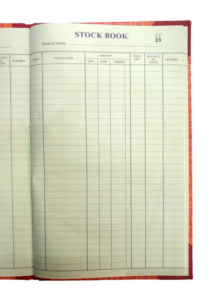 Medium Size of Lrs Stock Book With Amount Column Hard Bound Register Size Cm Pack Of In Office Products Spreadsheet Template