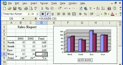 Microsoft Excel Is Spreadsheet Program That Can Used To Enter Data In Tabular Form And