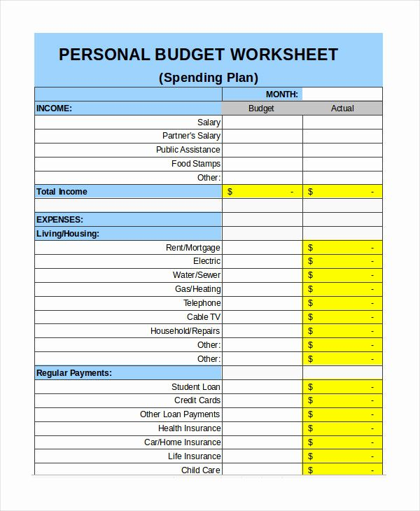 Full Size of Monthly Budget Excel Template Fresh Free Personal Bud Pdf Budgeting Worksheets Patient Spreadsheet