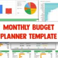 Monthly Budget Planner Spreadsheet Template For Google Sheets Etsy Docs Il 570xn 9wcd