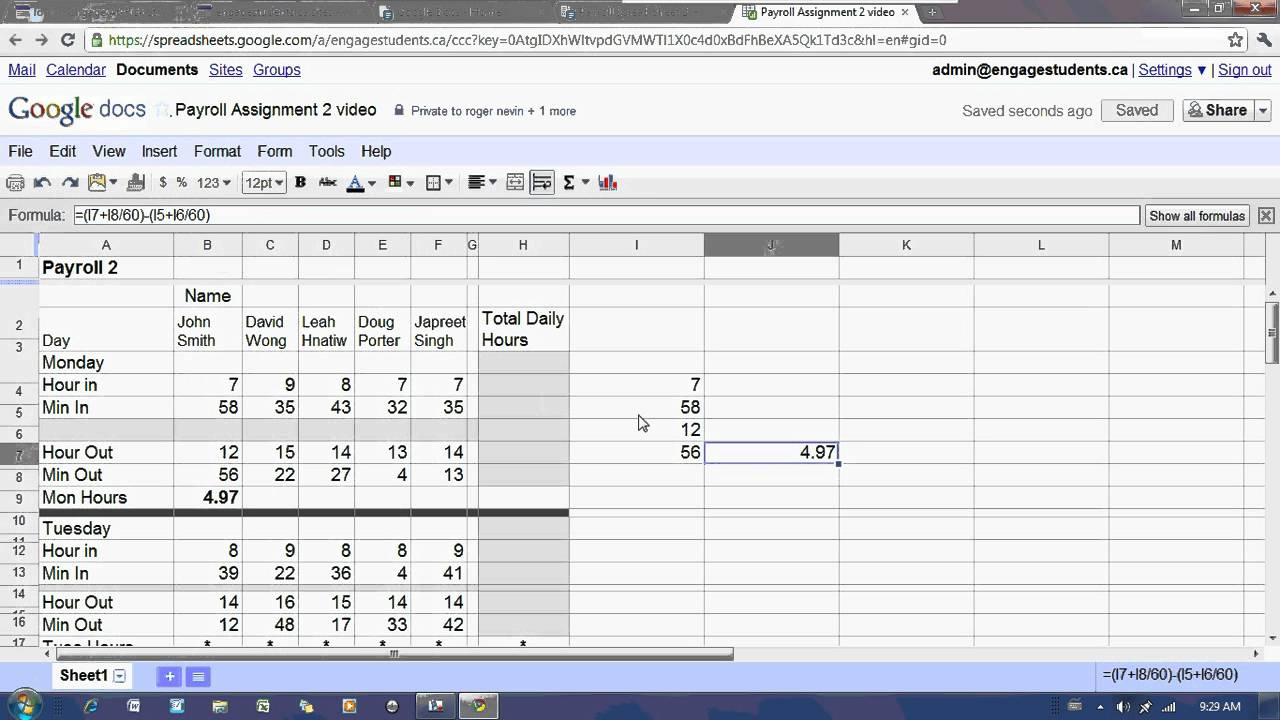 Full Size of Personal Budget Spreadsheet How To Make A Monthly Weekly Wedding Google Docs