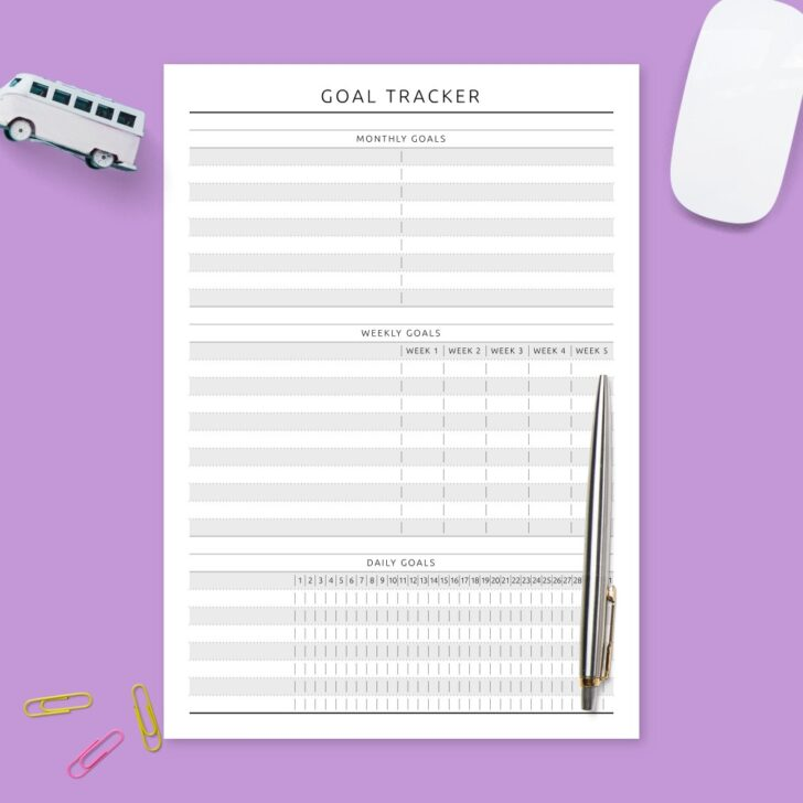 Medium Size of Plan Template Vision Statement Business Warehouse Goal Tracker