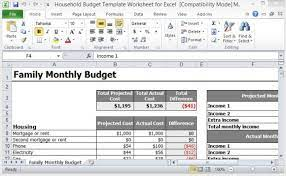 Full Size of Planning Template Business Scorecard Excel Source 21052 Household Budget