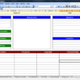 Project Management Spreadsheet Template 1